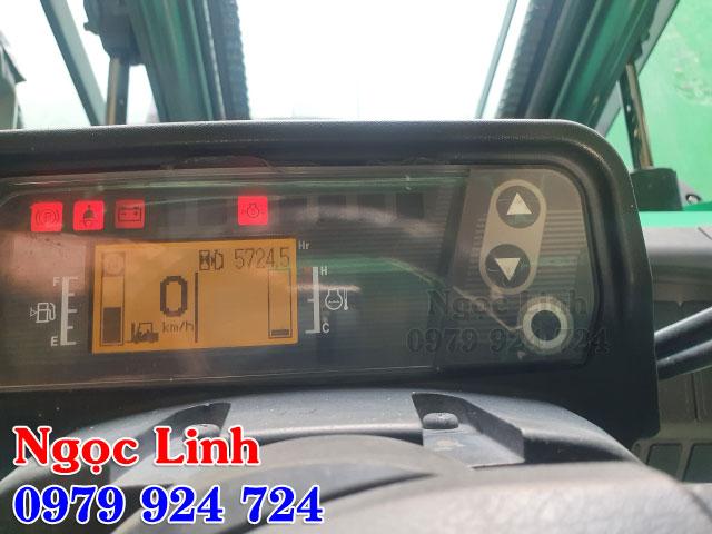 số giờ hoạt động của xe nâng Mitsubishi
